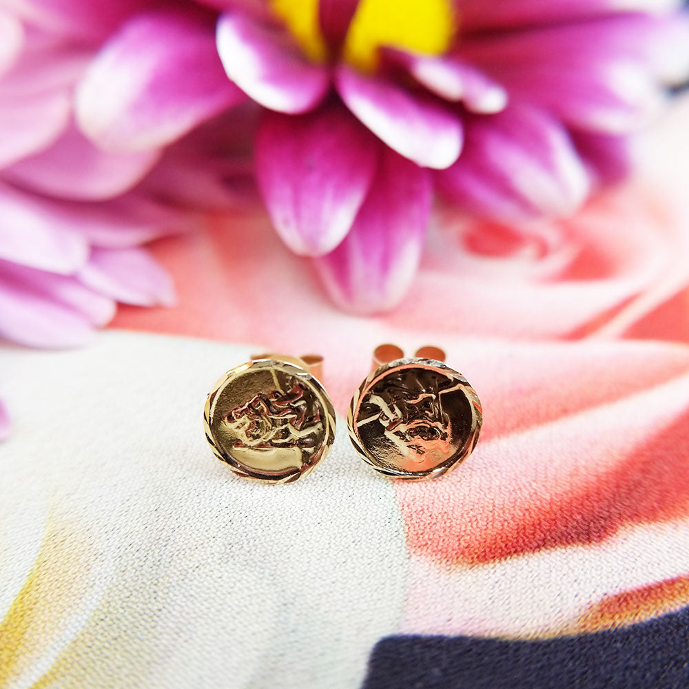 saint christopher earrings