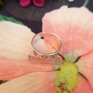 real 925 silver toe ring