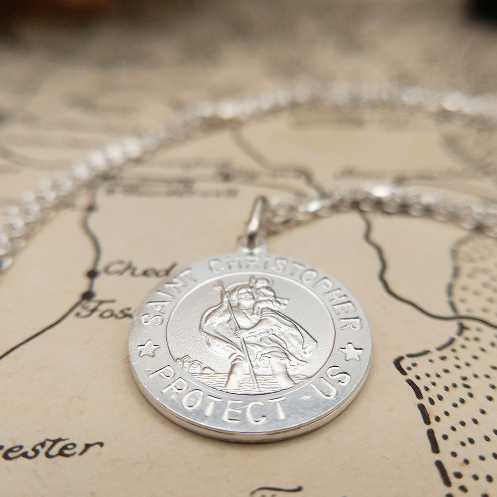 free engraving on our st christopher necklaces
