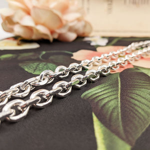 statement 925 silver necklace