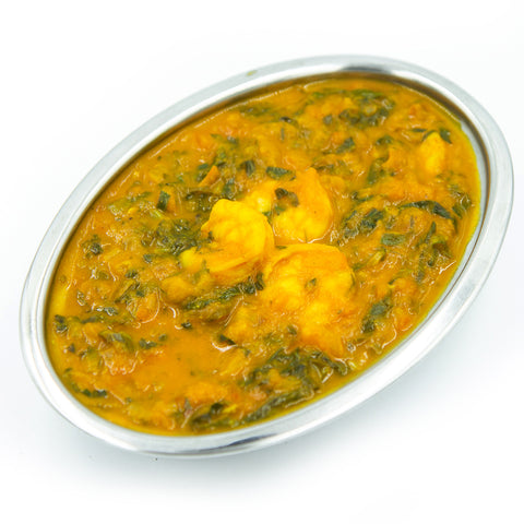 Shrimp Palak