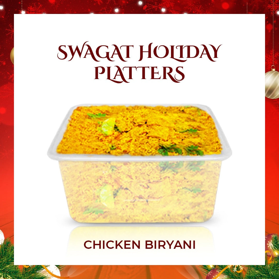 Chicken Biryani - Holiday Platter Size