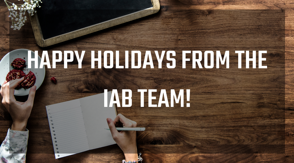 IAB Holiday Letter