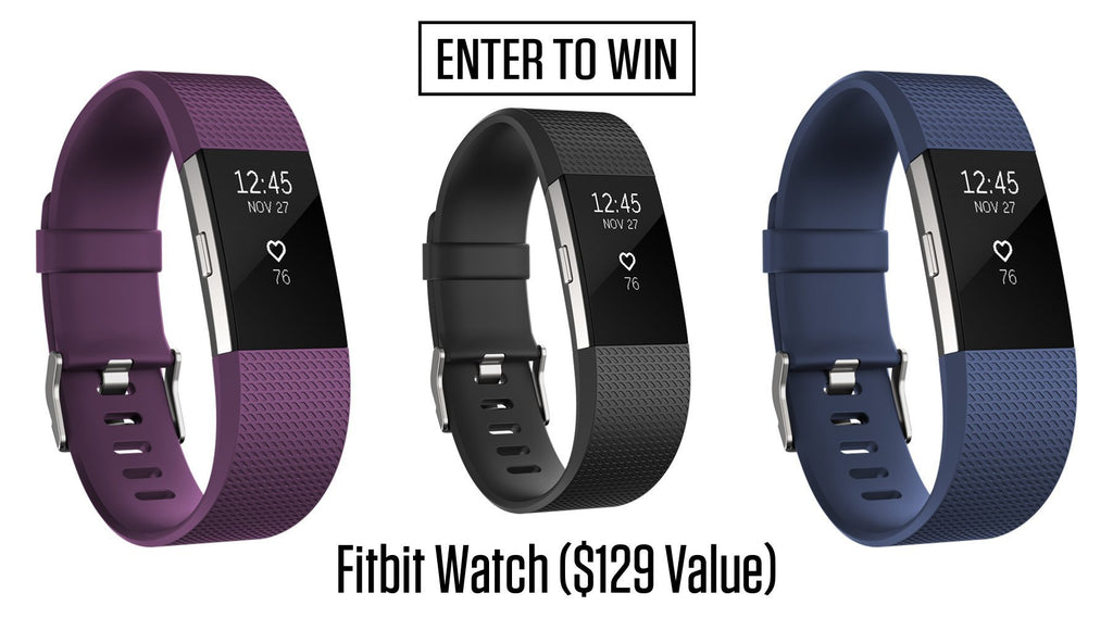 Fitbit Watch Giveaway!