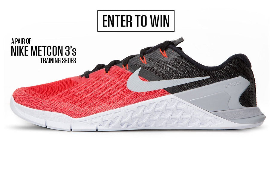 NIKE METCON 3 SHOES APRIL GIVEAWAY