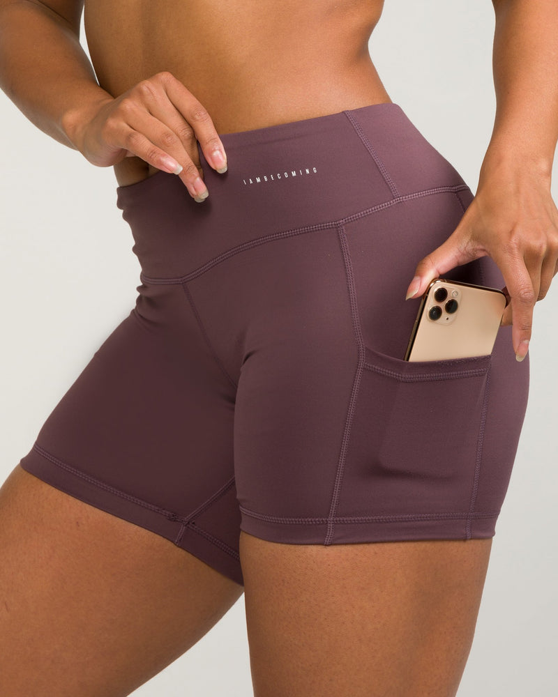 IAB No-Ride 5-Inch Pocket Shorts Lavender