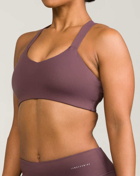 London Sports Bra Lavender