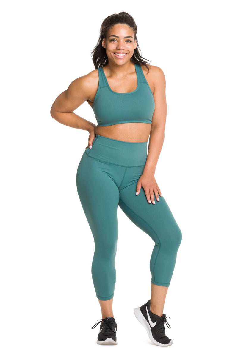 IAB Flex High Waisted CAPRI Mallard Green