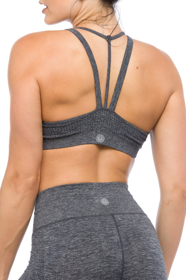 Carbon Seamless Sports Bras