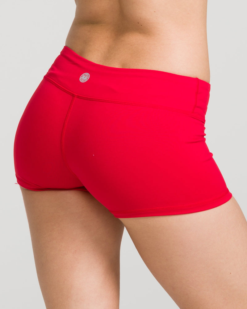 IAB Booty Shorts Red
