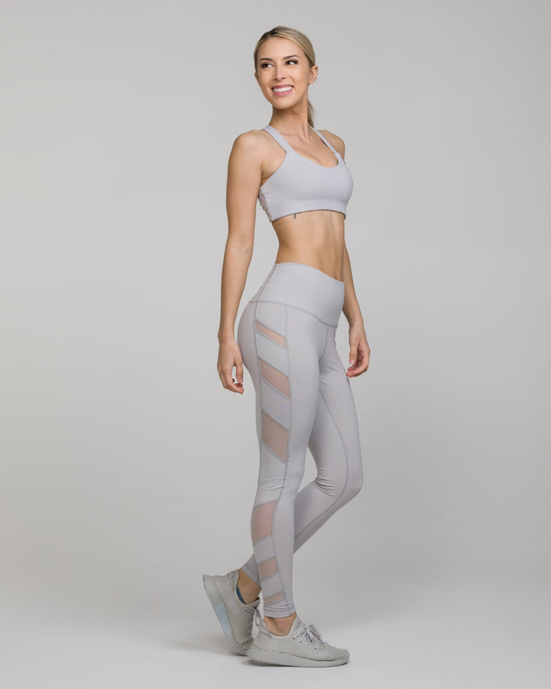 ELEVATE High-Waisted Legging Dove Grey
