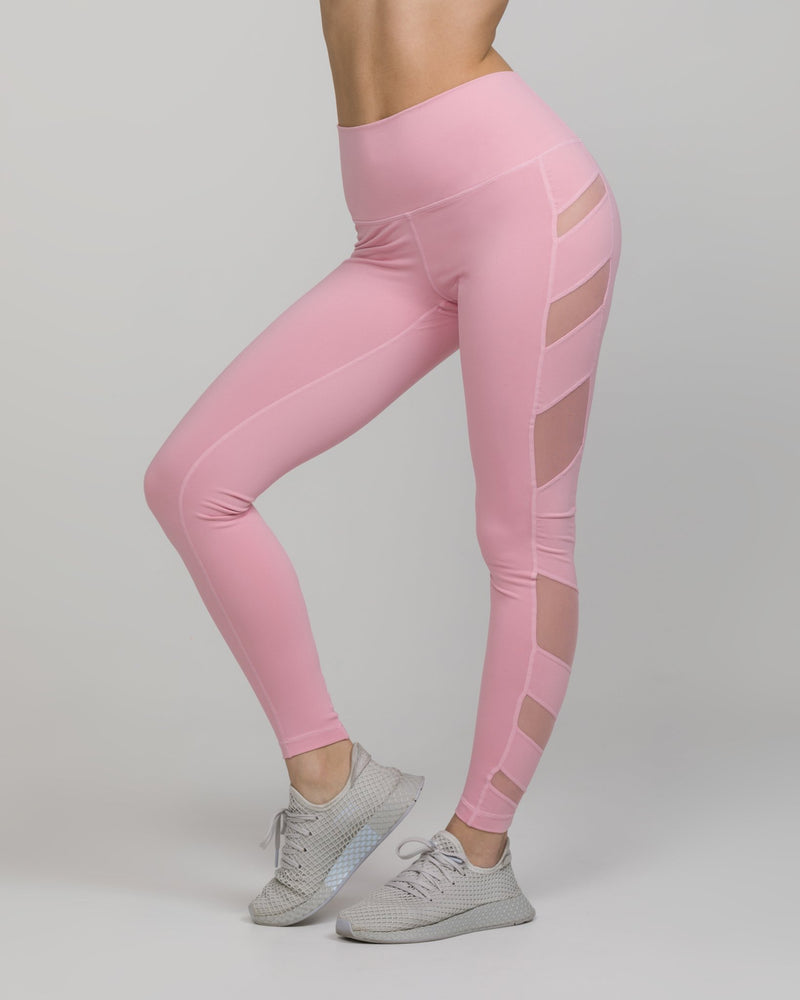 ELEVATE High-Waisted Legging Coral Blush