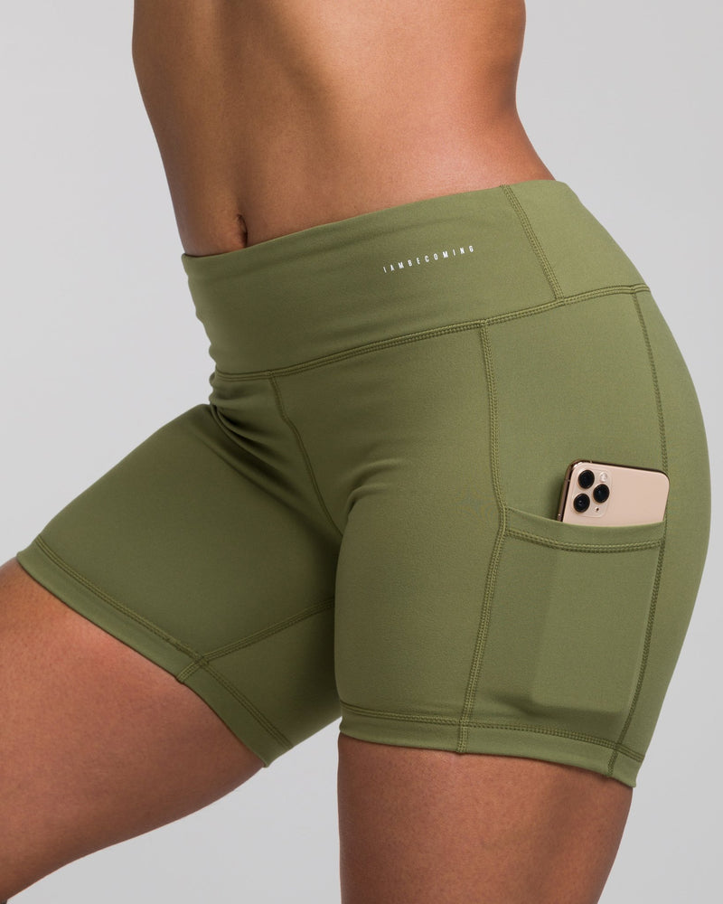 IAB No-Ride 5-Inch Pocket Shorts Army