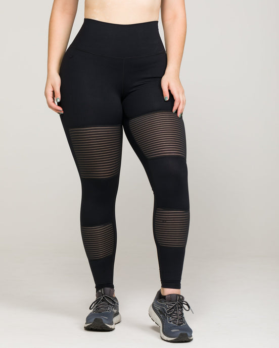 BANDE High-Waisted Legging Jet Black