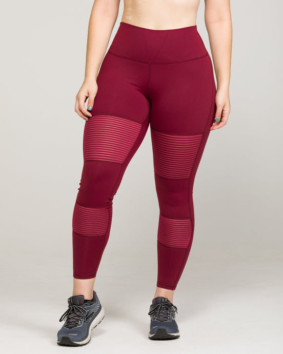 BANDE High-Waisted Legging Windsor Wine