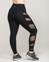 ELEVATE High-Waisted Legging Jet Black