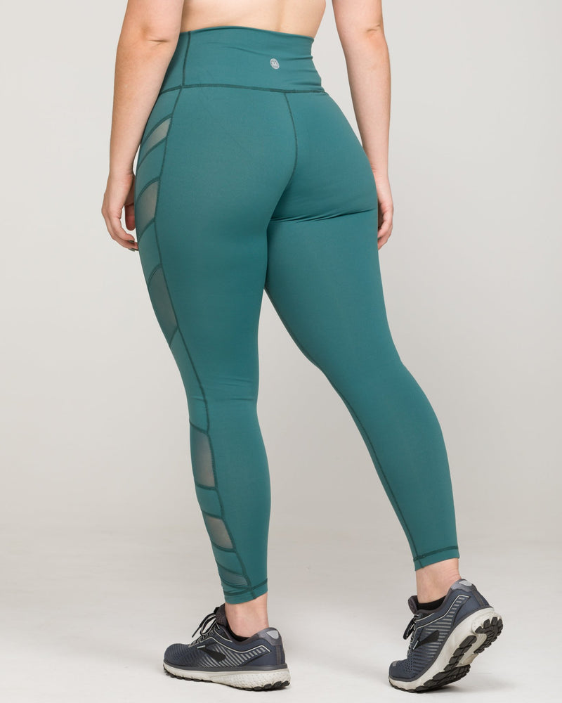 ELEVATE High-Waisted Legging Mallard Green