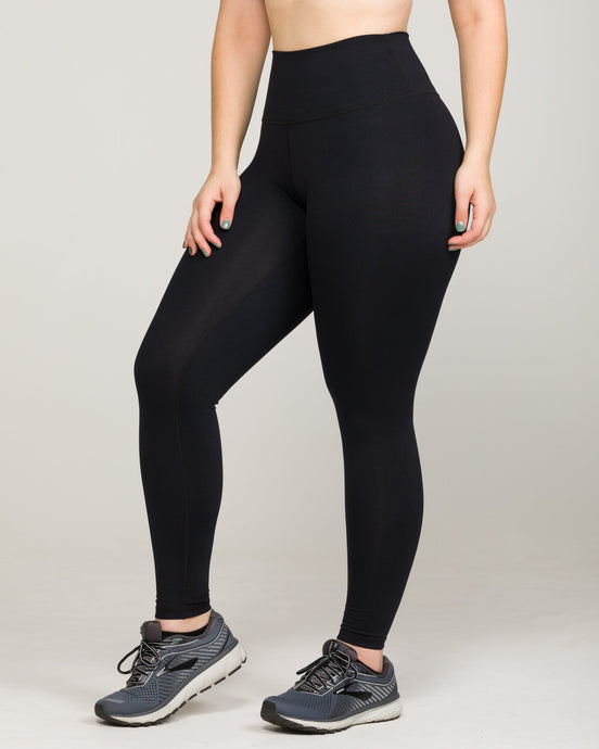 IAB Flex High-Waisted Full Length Legging Jet Black