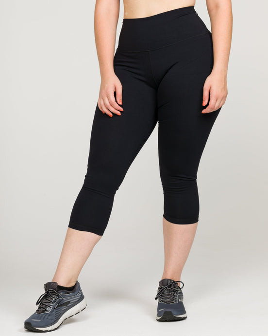IAB Flex High Waisted CAPRI Jet Black