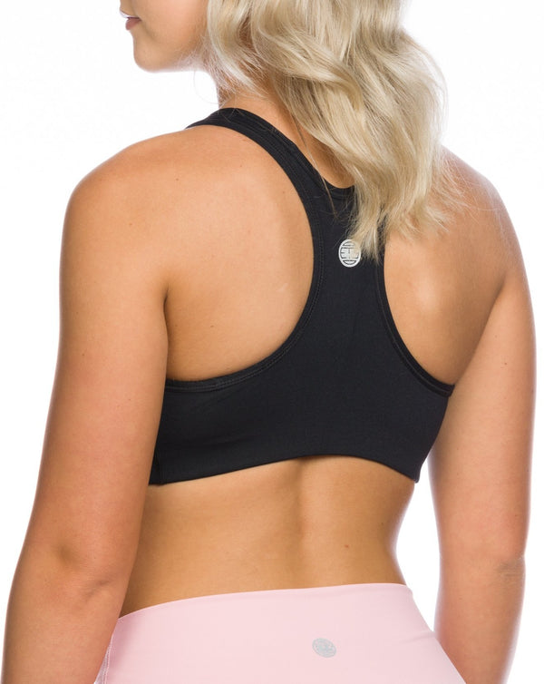 IAB FLEX SPORTS BRA JET BLACK