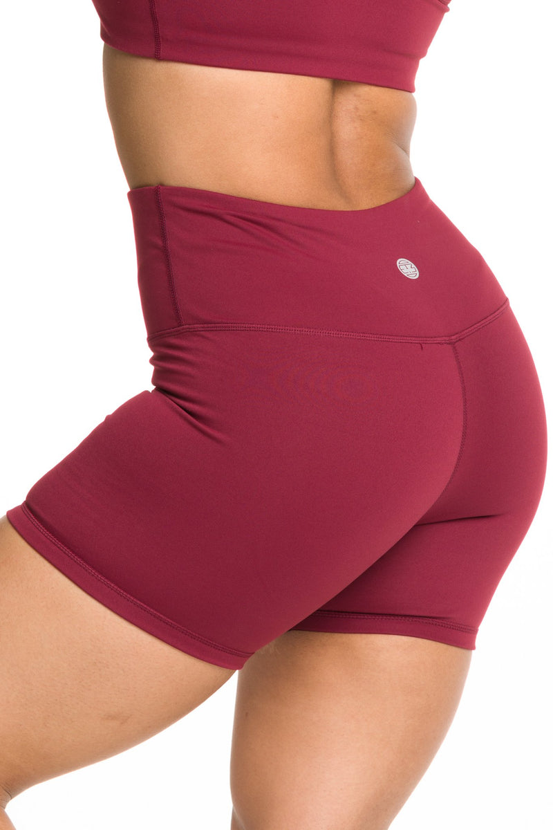 IAB Flex High Waisted 5-inch Shorts Windsor Wine