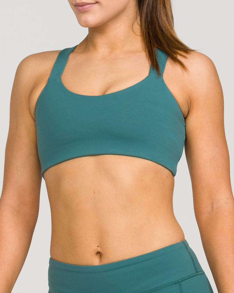 London Sports Bra Mallard Green