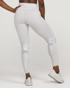 SOHO MOTO High-Waisted Legging Dove Grey