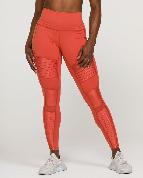 SOHO MOTO High-Waisted Legging Earth