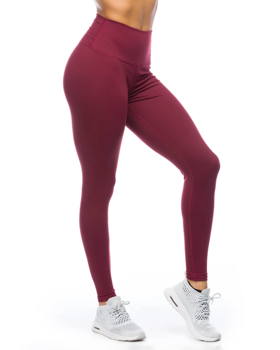 IAB Flex High-Waisted Full Length Legging Windsor Wine