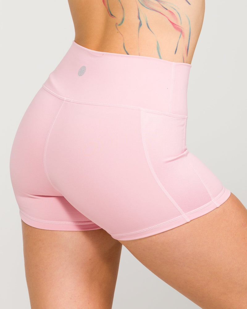 The Yogi Short Coral Blush