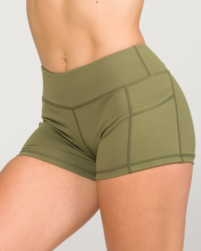 IAB Pocket Booty Shorts Army
