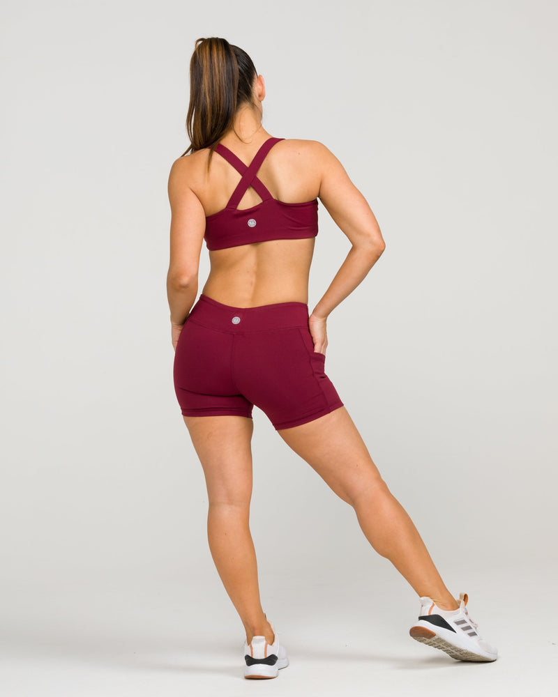 Flex Pocket Shorts Windsor Wine