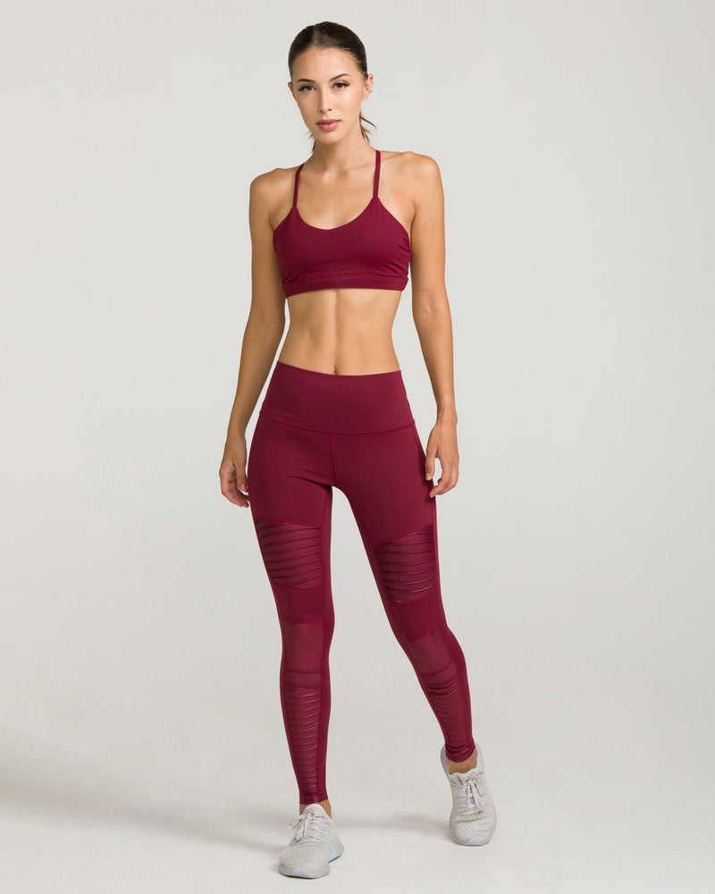 Namaste Sports Bra Windsor Wine
