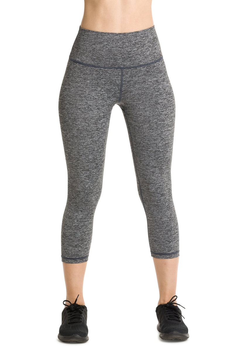 IAB Flex High Waisted CAPRI Heather Charcoal