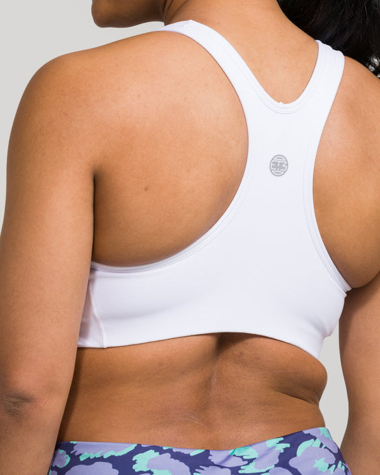 IAB Flex Sports Bra Optic White