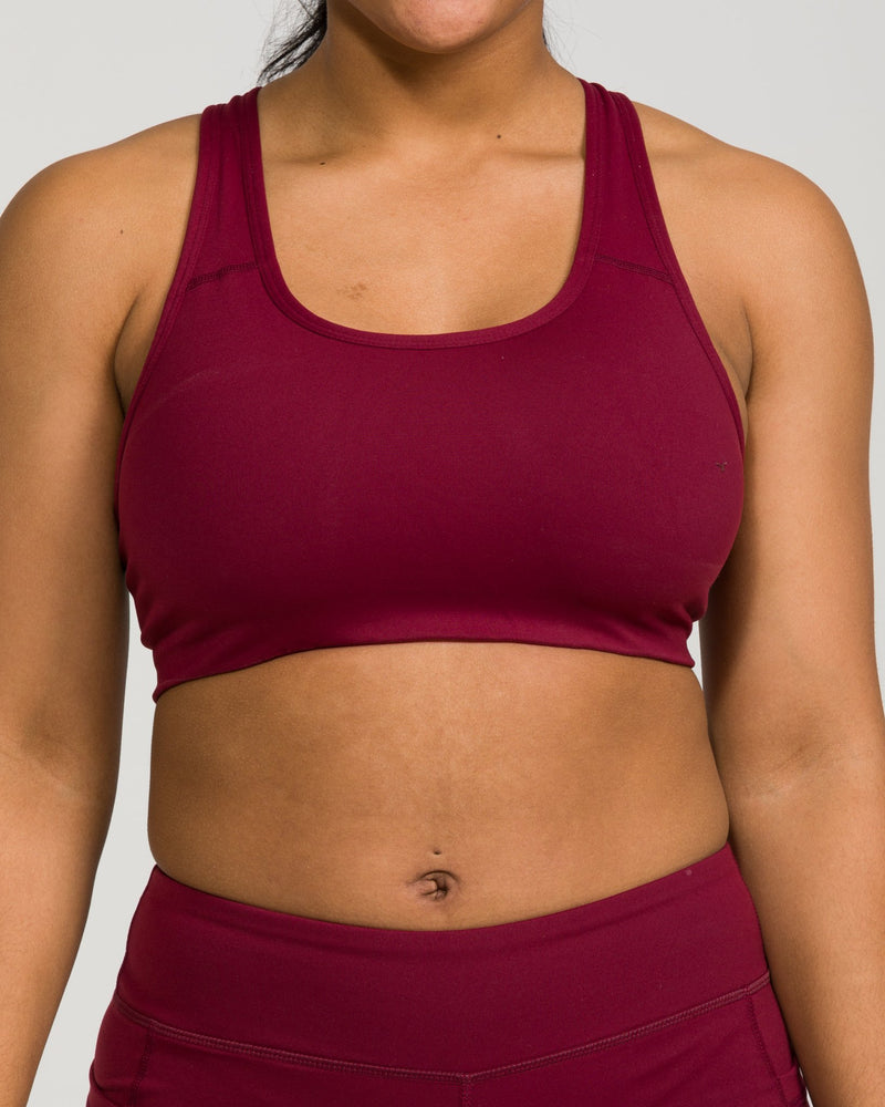IAB Flex Sports Bra Windsor Wine