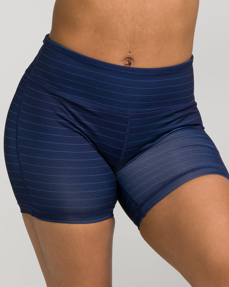 IAB Flex 5 Inch No-Ride Shorts Lined Blue
