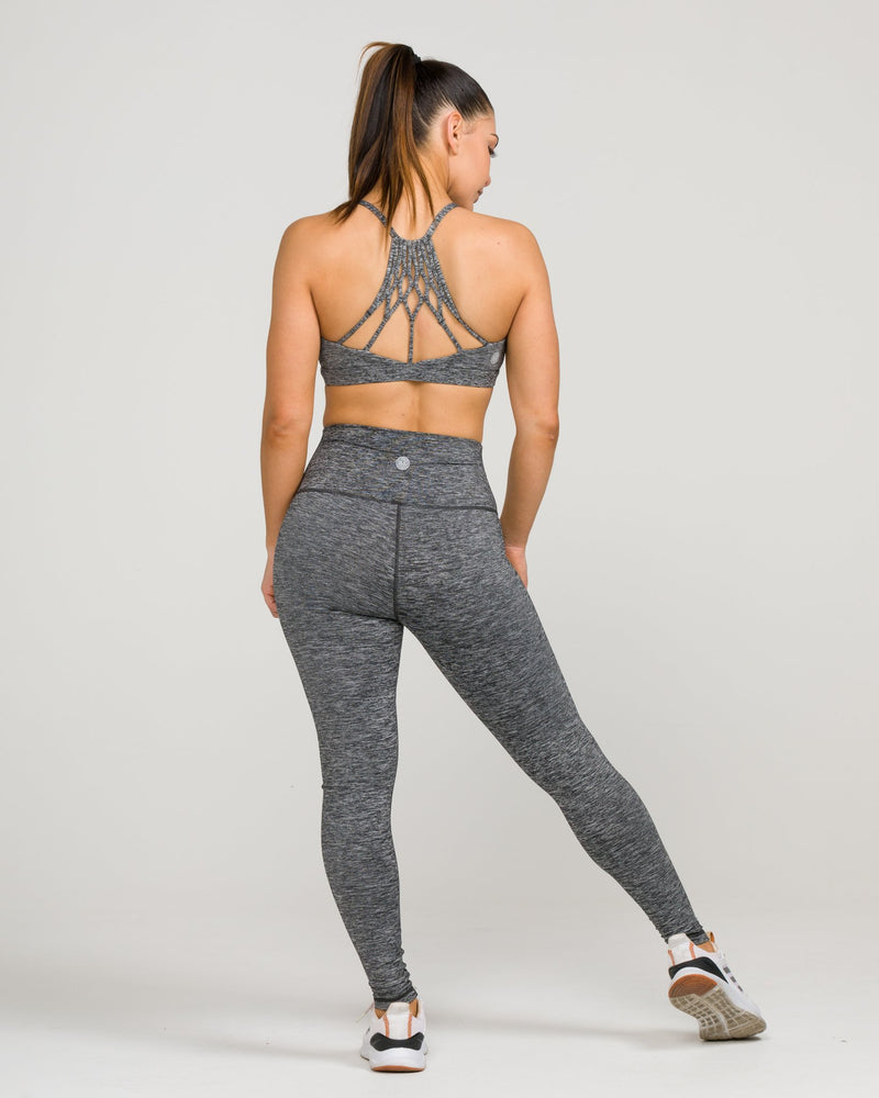 Namaste Sports Bra Heather Charcoal