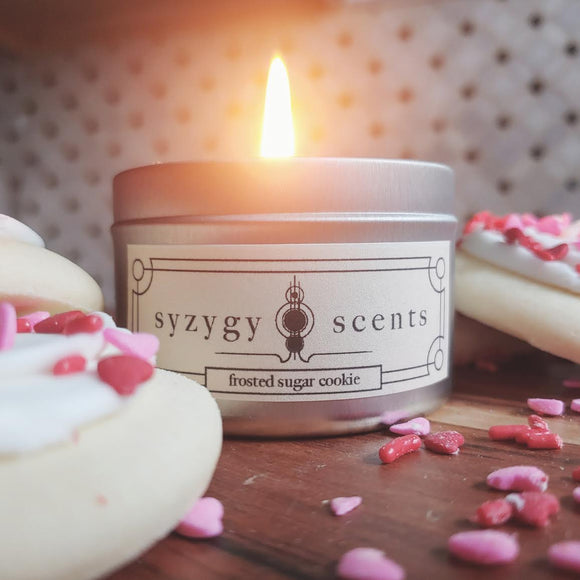 Frosted Sugar Cookie Candle