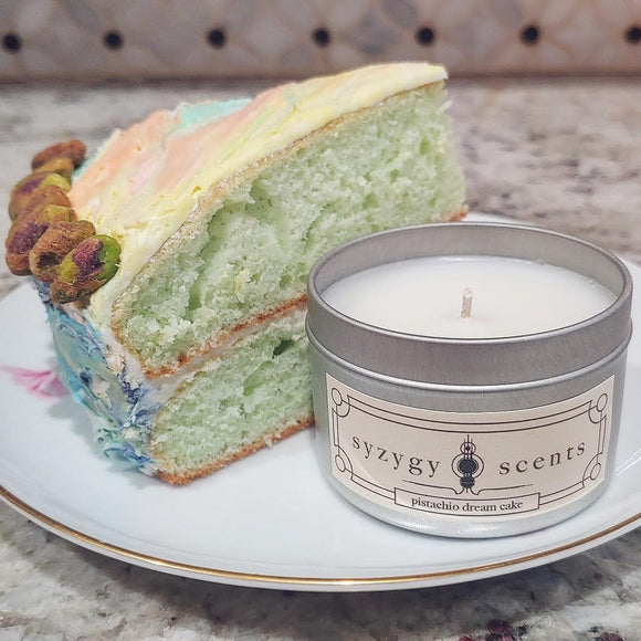 Pistachio Dream Cake Candle