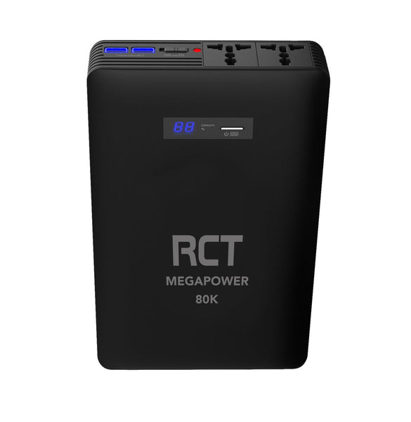 RCT MEGAPOWER 80000mAh AC Power Bank