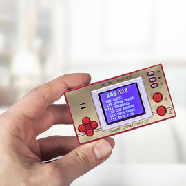Retro Pocket Games Controller with LCD screen - Over 100 8-bit Games