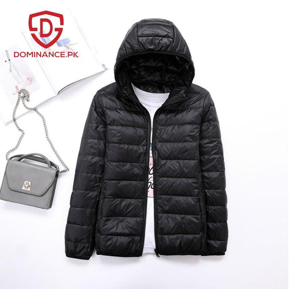 Buy Down Ladies Jacket – Black at Dominance