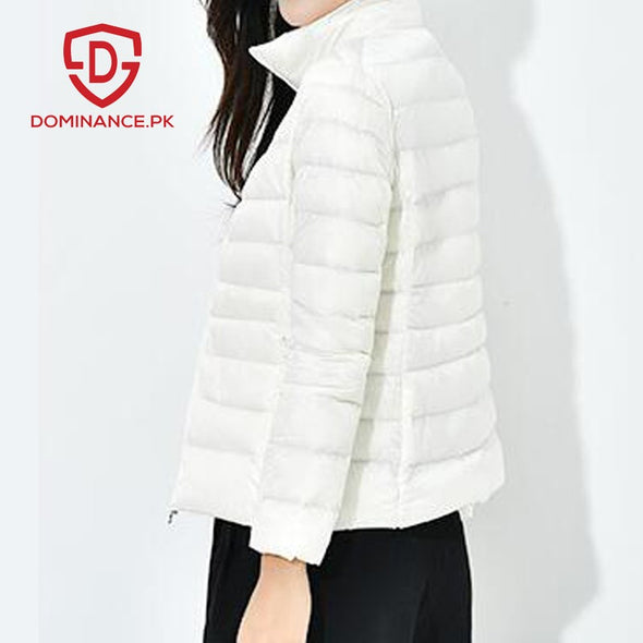 Down Ladies Jacket – White