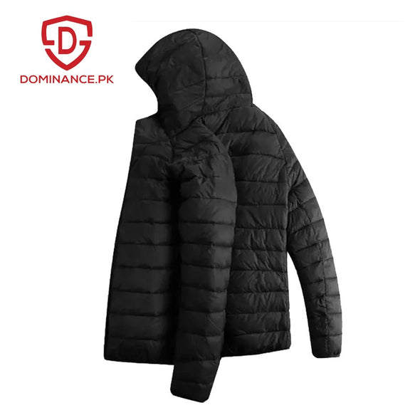 Down Ladies Jacket – Black