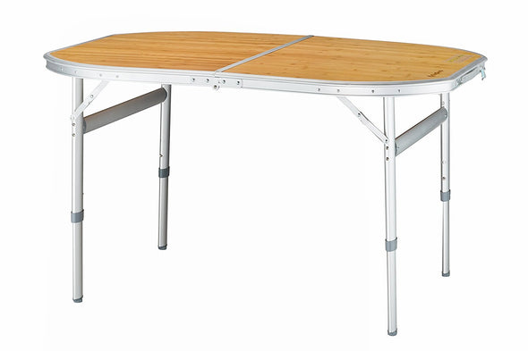 Bamboo Two Heights Folding Table