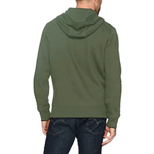 Dominance Fleece hoodie - Olive Green