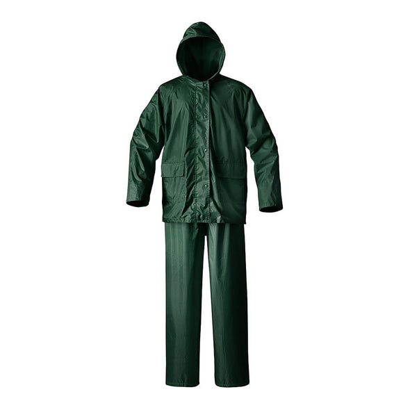 Water Proof Rain Suit to be worn on the top of your clothing, easy to wear and remove
