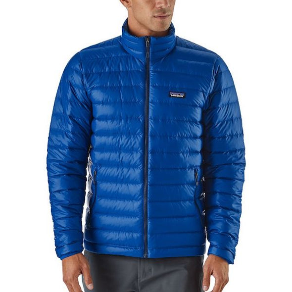 Patagonia Ultralight Down Blue Hoody – Men's