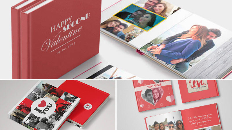 Valentine Gift Idea #1: A personalized photo book.